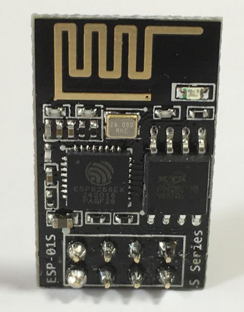 Mobilefish com - Send DHT11 sensor data using ESP-01S