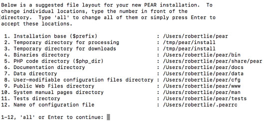 Install PEAR step 1