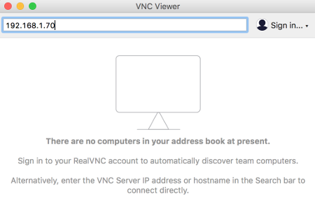 VNC viewer