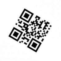 QR code rotated